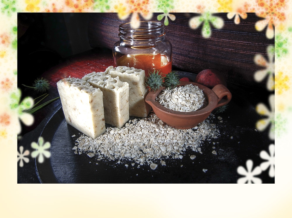 honey oats soap